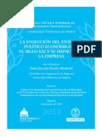 LA EVOLUCIÓN DEL ENTORNO POLÍTICO ECONÓMICO EN EL SIGLO XXI Y SU IMPACTO EN LA EMPRESA