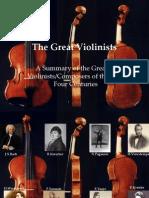 Violin Virtuosi