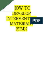 SIM Guidelines (1)