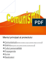 Comunismul Proiect Istorie