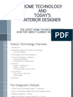 Home Technology - What Interior Designers Need to Know Power Point 97-2003 10-8-2013