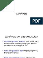8 VARI+üVEIS E bioestatistica