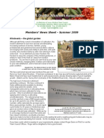 Bletchley & District Allotment Association Summer News 2009