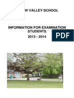 Guide to Exams 2013-14