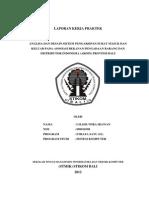 Analisa dan Desain Sistem Pengarsipan Surat Masuk dan Keluar pada ARDIN Provinsi Bali - Laporan Kerja Praktek