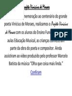 Projeto Vinícius de Moraes