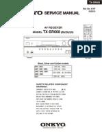 Onkyo TX-SR608 Service Manual