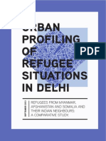 Urban Profiling of Refugees Situations in Delhi