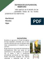 Propiedades físicas de las fluidos (Gas natural)