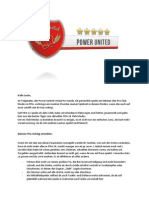 PowerUnited Virtual Pro Guideline
