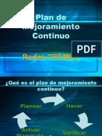 Plan de Mejoramiento Continuo - Redes TREMEC