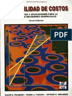 CONTABILIDAD DE COSTOS 3º EDICION - Ralph S. Polimeni, Frank J. Fabozzi, Arthur H. Adelberg & Michael A. Kole