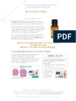 dōTERRA® LIFESTYLE INTERNATIONAL™  October Newsletter