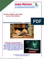 500 libros digitales varios útiles para la vida cotidiana