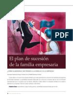 Articulo - El plan de sucesión de la familia empresaria