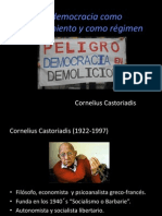 Expo de Castoriadis Democracia.ppt