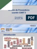 Vendor Management using COBIT 5 por FrancoITGRC