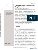 Capacity Building in Anthelmintic Drug Discovery
