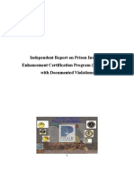 Independent Report on Prison Industry Enhancement Certification Program