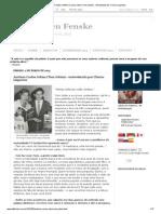 Elfi Kürten Fenske_ Antônio Carlos Jobim (Tom Jobim) - entrevistado por Clarice Lispector