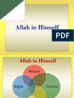 Allah in Himself NEW PDF