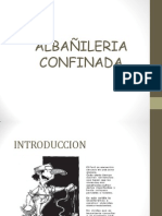 DIAPOSITIVAS DE ALBAÑILERIA CONFINADA