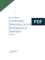Las Escalas Musicales Acordes Pentagrama_Samuel Saldaña