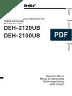 Pioneer DEH 2100UB Manual