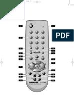 Thomson ROC 240 Remote Control Manual