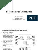 10 Bases de Datos Distribuidas