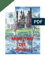 Muay Thai Dee Primera Parte Blog