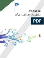 Manual de Usuario Tablet Samsung GT-P5110