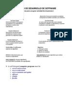 Proceso de Desarrollo de Sotfware