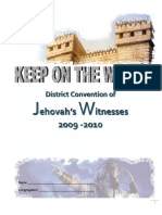 15892019 KEEP on the WATCH 20092010 District Convention Notebook 2