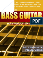 Bass Guitar Licks