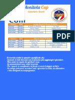 Calendario Monitola Cup 2013/14