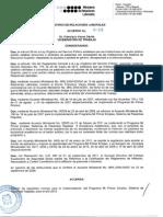 Acuerdo 016 Pasantias 2012