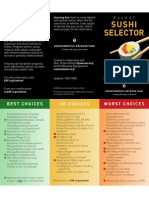 EDF Sushi Pocket Guide