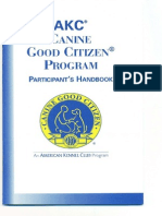 AKC Canine Good Citizen - Participant's Handbook