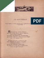 """Poema """"Lo Rat-Penat"""" (1878) de TEODOR LLORENTE dit per Lluís Roda"""