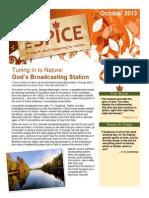 FUMC_October Spice Newsletter
