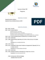 Programa Summer School '09
