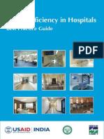 Hospital Energy Efficiency-Best Practices Guide