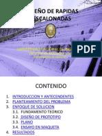 DISEÑO DE RAPIDAS ESCALONADAS