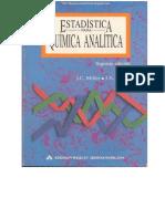 Estadística para Química Analítica - 2da Edición - J. C. Miller & J. N. Miller