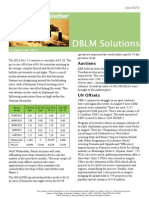 DBLM Solutions Carbon Newsletter 12 Sep