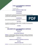 Acuerdo Gubernativo 136-85 to de La Ley de Empresas Campesinas Asociativas
