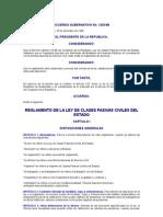 Acuerdo Gubernativo 1220-88 to de La Ley de Clases Pasivas Civiles Del Estado