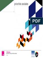 Baromètre 2012 des priorités sociales