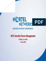 iBTS Dowlink Power Management (MaxTxPower - TMA